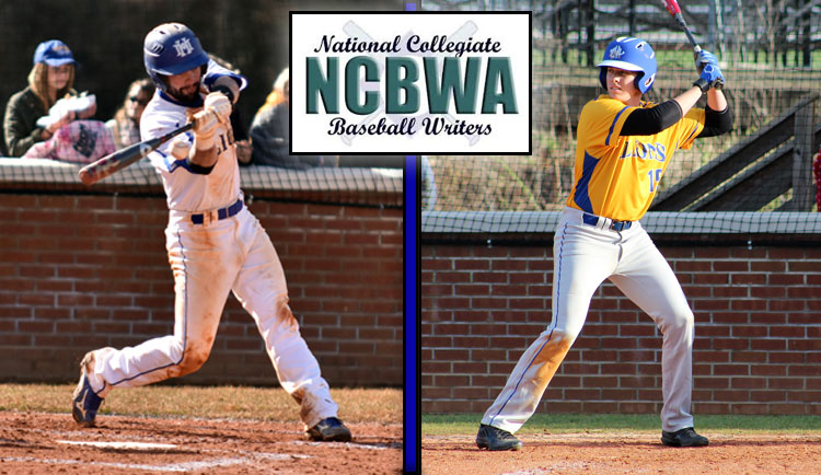 Merrill and Brubaker Selected NCBWA All-Region