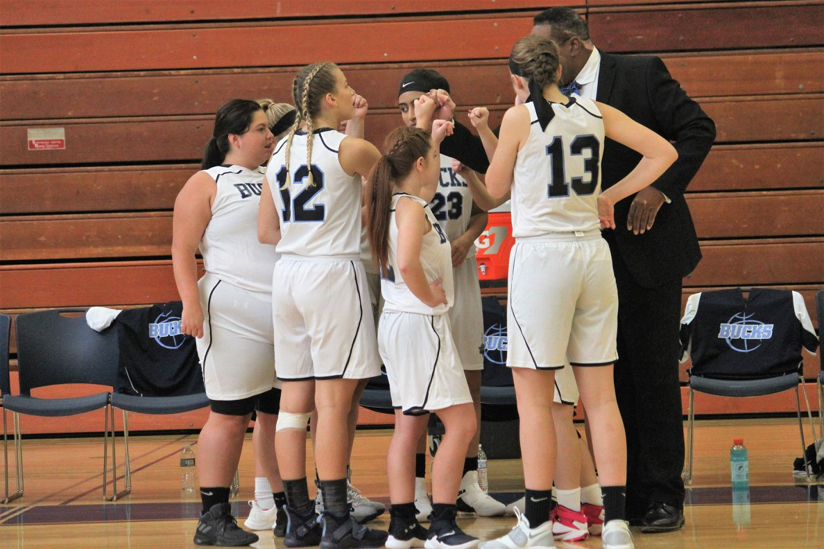 Women's Basketball Beginning to Win their Battles