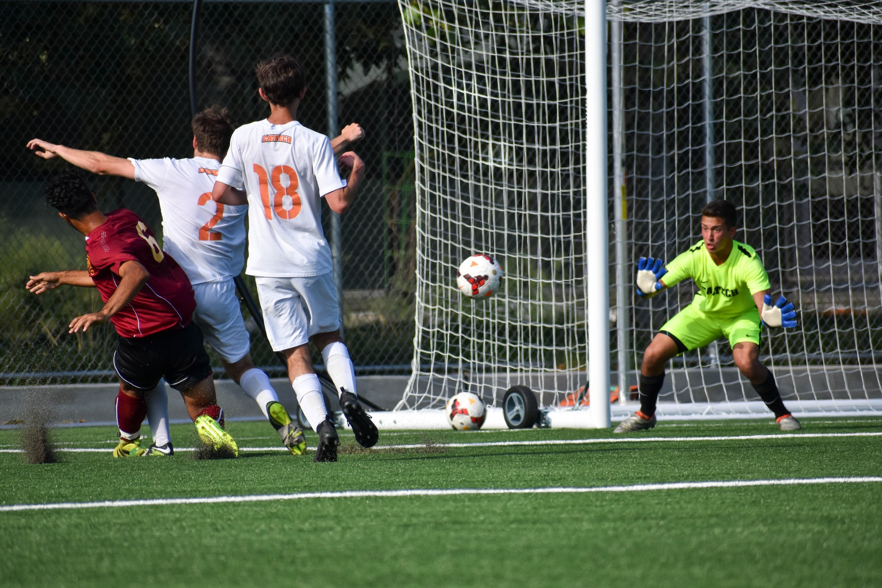 Beavers Edged by Occidental in SCIAC Men's Soccer Debut