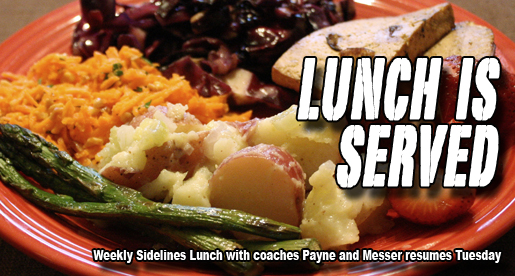 Lunch plans? Sidelines Lunch resumes Tuesday with TTU basketball coaches