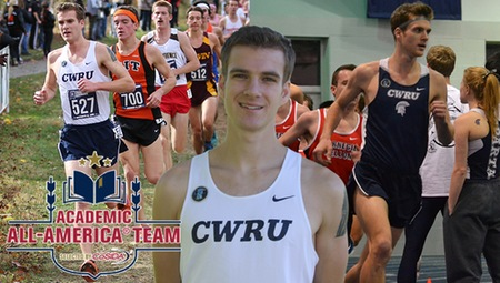 Sam Merriman of CWRU Named to CoSIDA Academic All-America First Team