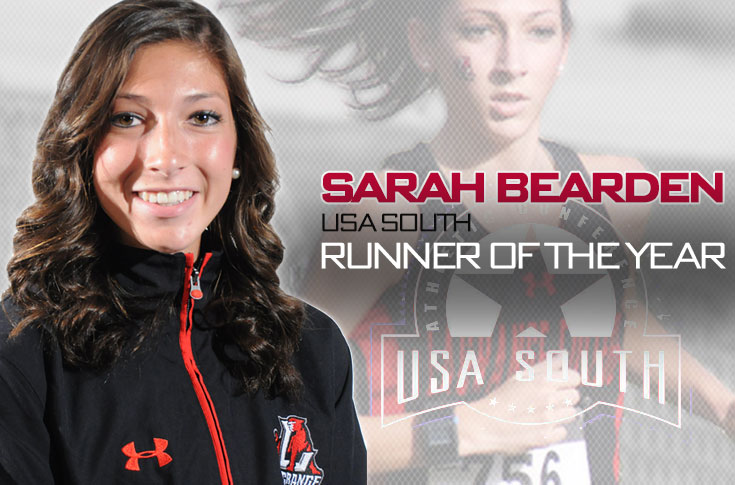 Cross Country: Bearden selected as the USA South Women's Cross Country Runner of the Year
