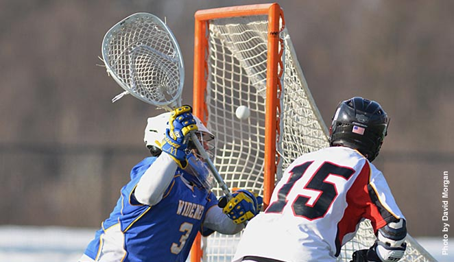 Men's Lax wins home opener, 7-1, over Widener