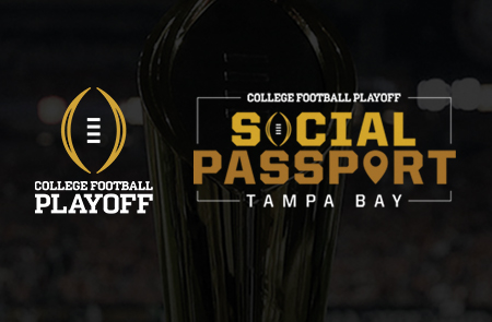 College Football Playoff Fans Can Earn Exclusive Rewards with CFP Social Passport: Tampa Bay