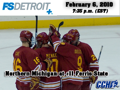 FS Detroit Plus To Televise Saturday's Ferris State Hockey Game
