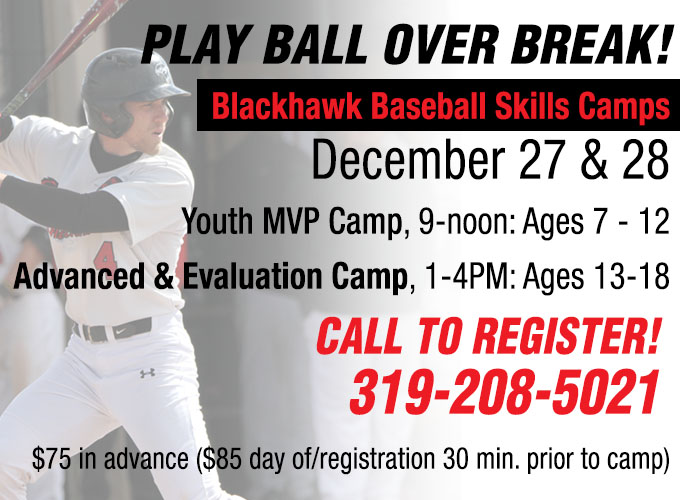 Baseball to Host Skills Camps