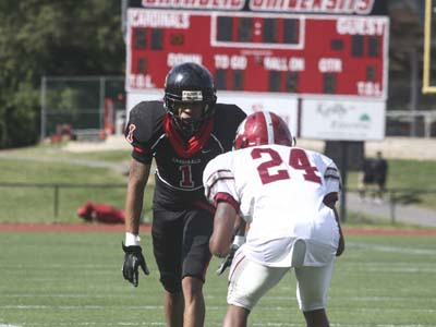 Cardinals fall to Generals on Homecoming