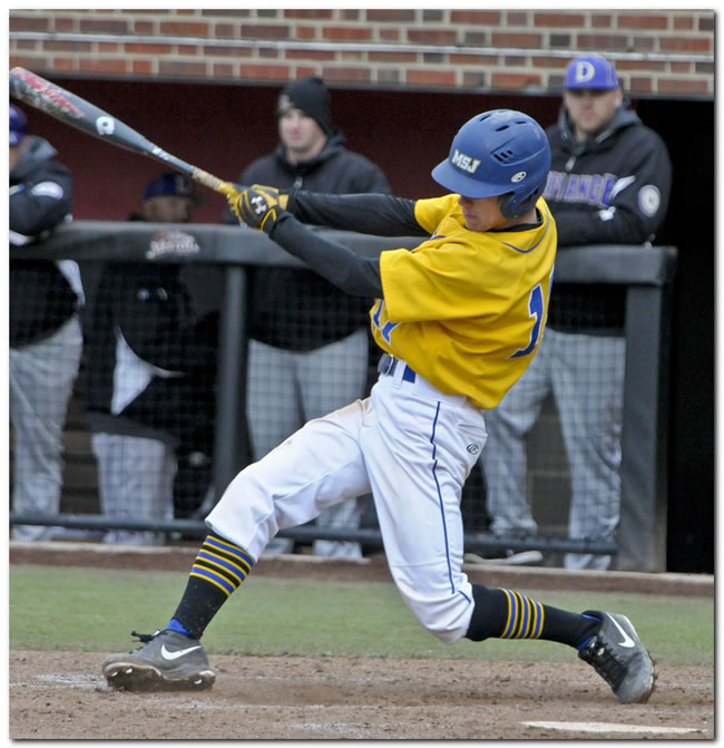 Lions' baseball team clipped late on road by Defiance College