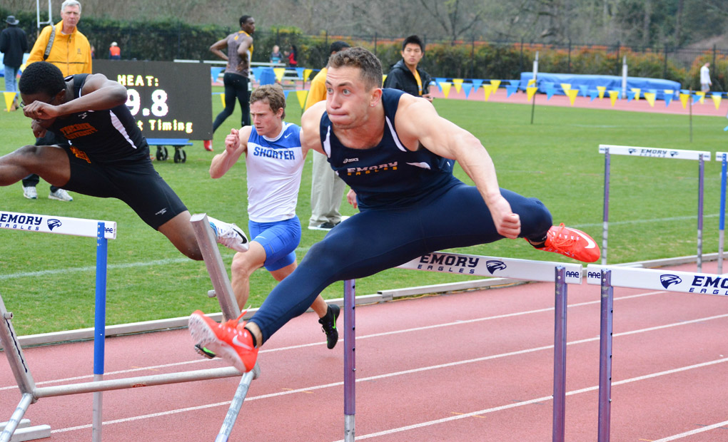 Emory Men's Track & Field Place Second at Berry Field Day Invitational