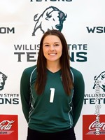 Brittany Hawman, Volleyball, Sophomore DS/Libero, WSC