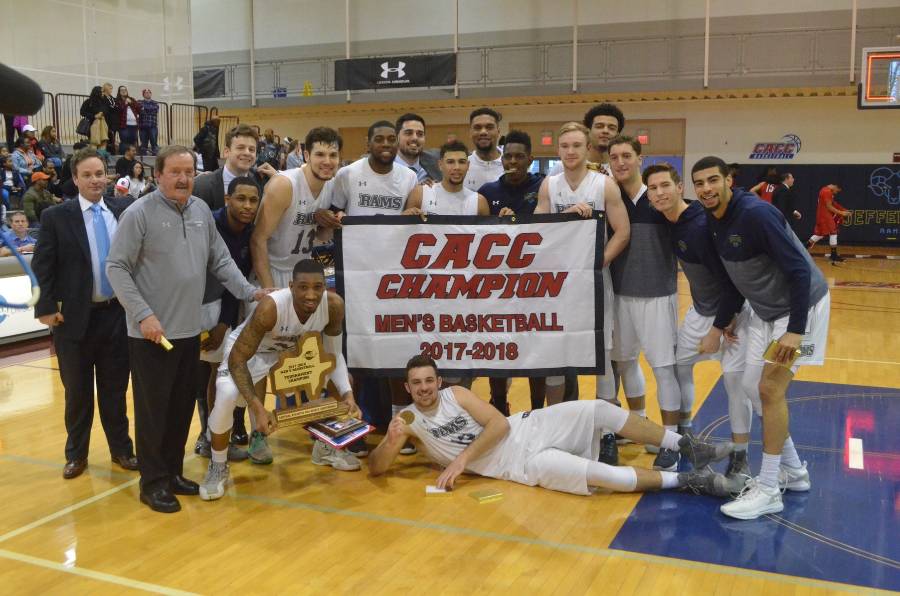 Kaison Randolph's 2 FTs w/ :03 Left Lifts Jefferson to 2017-18 CACC Men's Basketball Championship