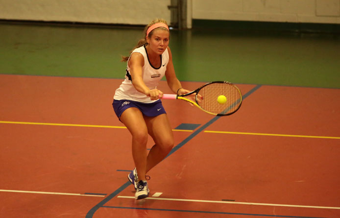 Women's tennis completes Massachusetts weekend with loss at regionally-ranked Stonehill