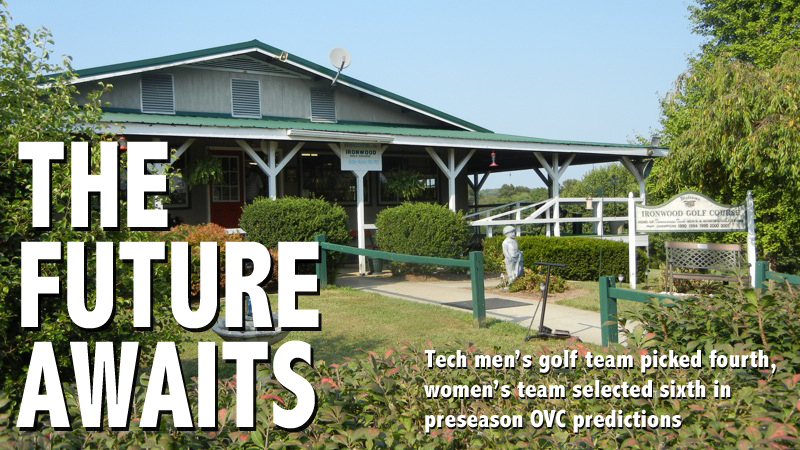 Tech men's and women's golf teams picked fourth and sixth in preseason poll