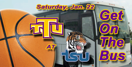 Tech fan bus planned for doubleheader at TSU Saturday, Jan. 22