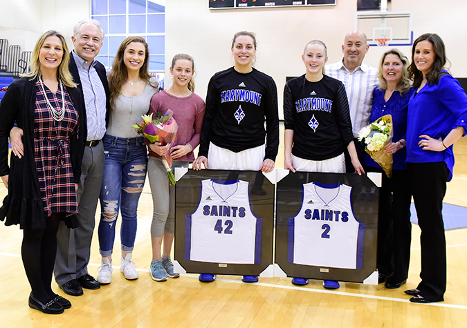 Senior Day victory over Bobcats seals up first-round bye in CAC Tournament for No. 24 Saints