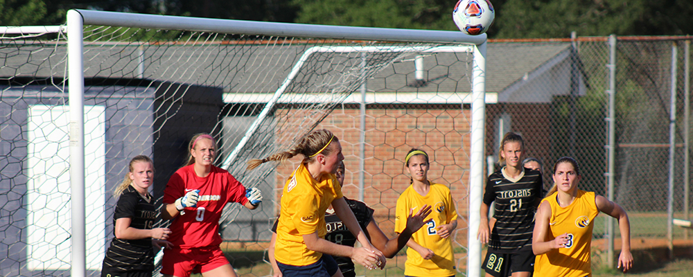 Women's Soccer Suffers 3-0 Conference Loss to Wingate