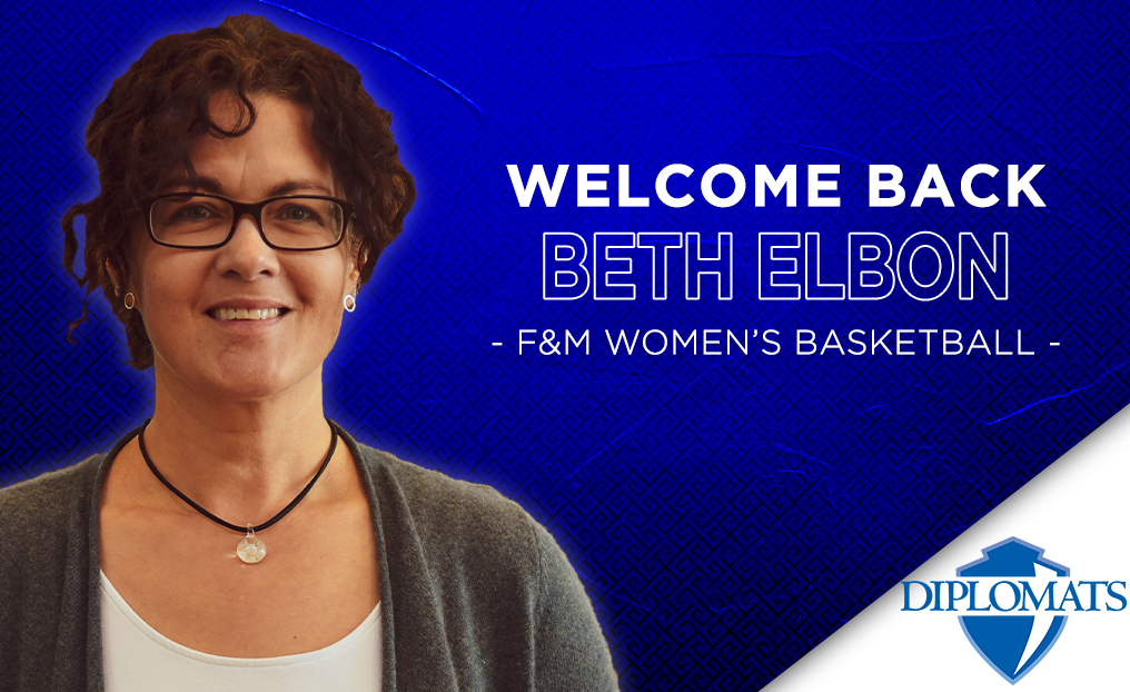 Elbon Named Interim Head Coach of F&M Women's Basketball