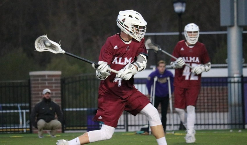 Men's lacrosse falls at Albion in MIAA title game