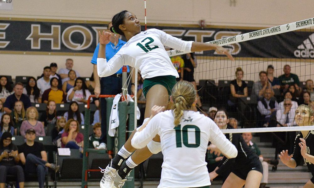 LONG HOME WINNING STREAK SNAPPED IN VOLLEYBALL'S FIVE-SET LOSS TO IDAHO