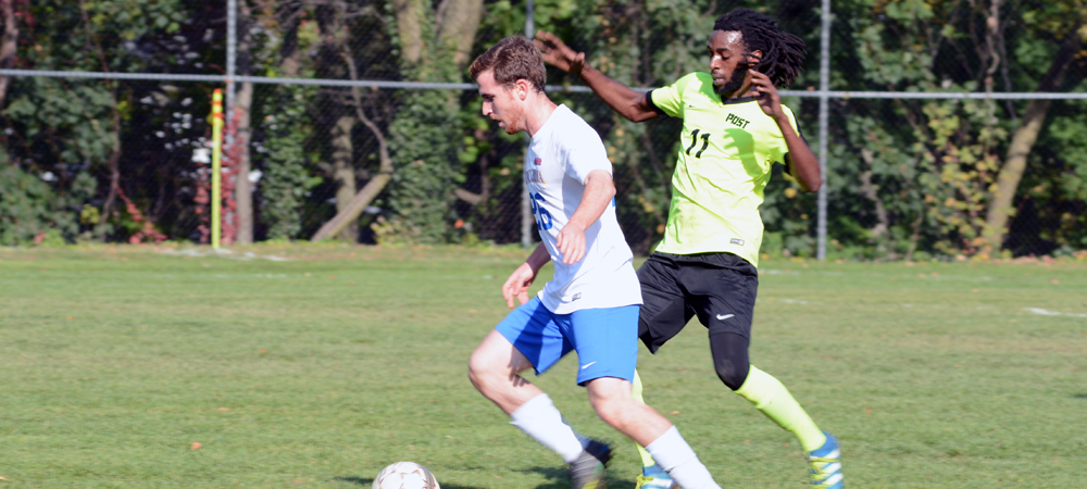 Men's Soccer Shuts Out Saint Rose for First Win of the Season, 2-0