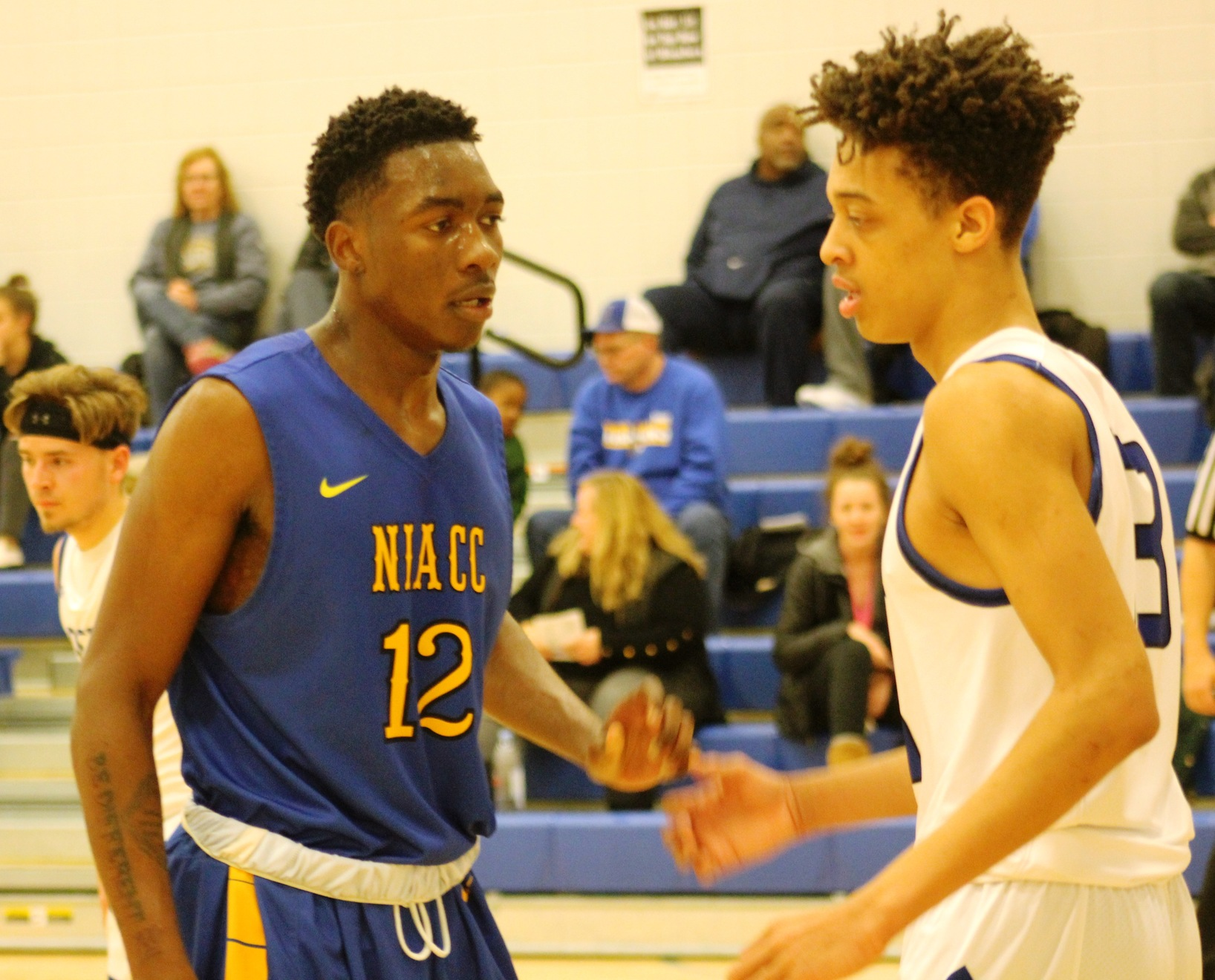 NIACC's Wendell Matthews is the NJCAA Division II player of the week for the week of Nov. 26-Dec. 2.