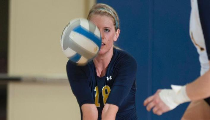 Volleyball Splits on First Day of Augsburg Invitational