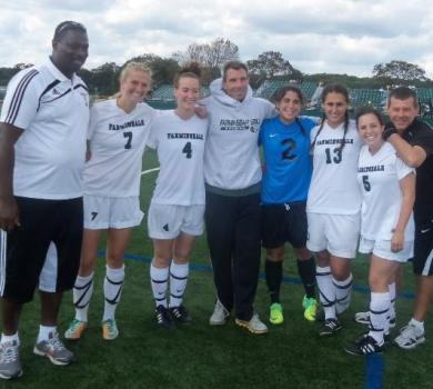 Rams Roll Past Mount Saint Vincent on Senior Day