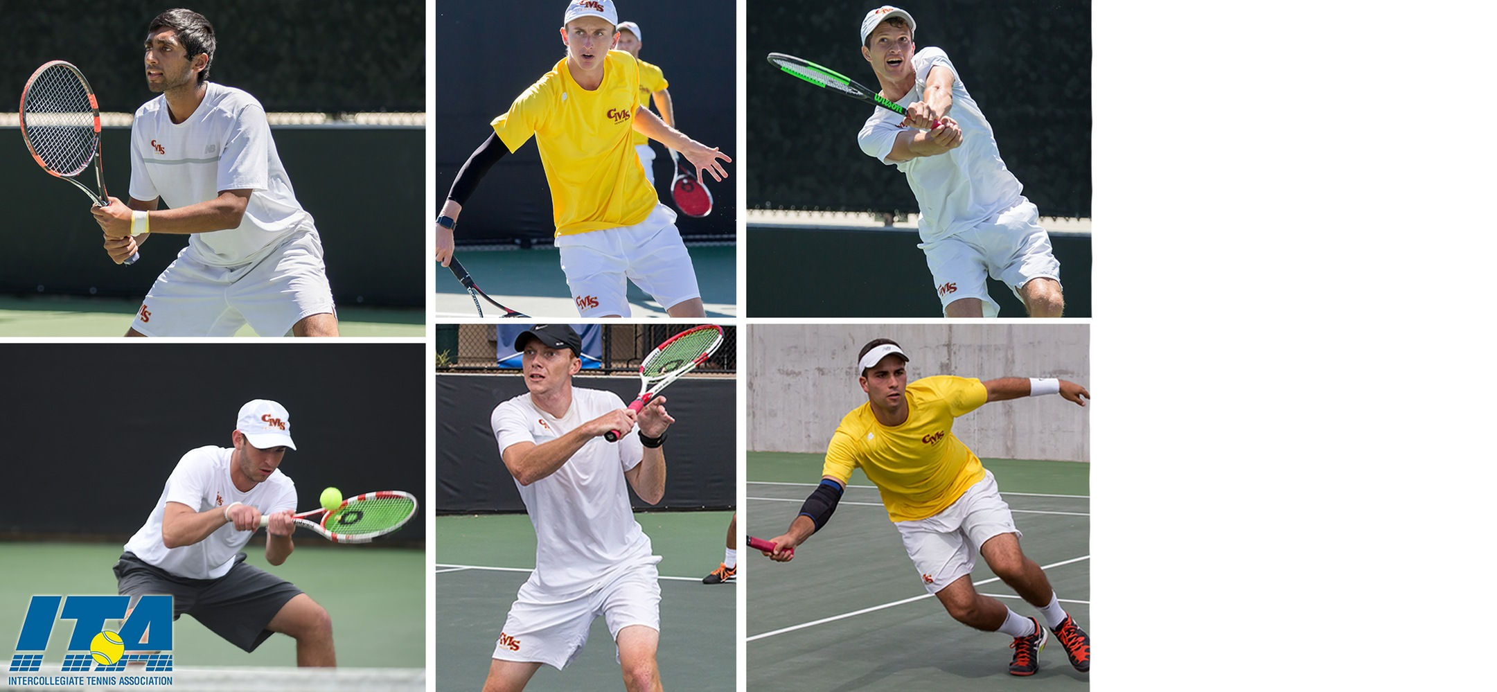 Men's Tennis sees six Stags named to ITA Scholar-Athlete list