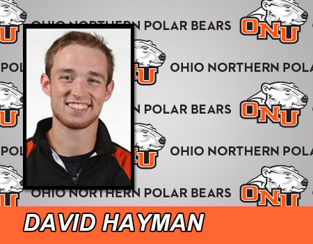 Hayman wins sixth consecutive singles match to lead Men's Tennis at Baldwin Wallace