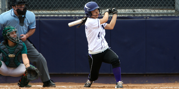 Softball completes home stand with split against Piper's