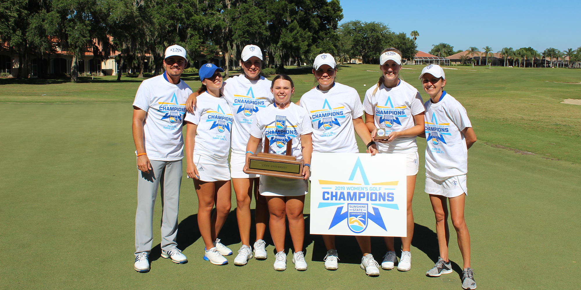 CONFERENCE CHAMPS! Clutch Back-Nine Propels Women's Golf to SSC Championship