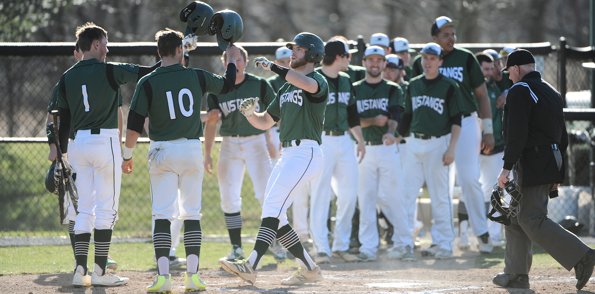 Baseball Outslugs Frostburg State 21-14 in Season Finale