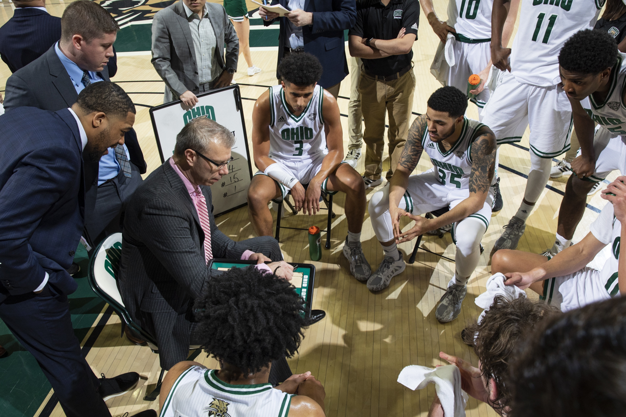 Ohio Men's Basketball Set for Saturday Afternoon Matchup at Kent State