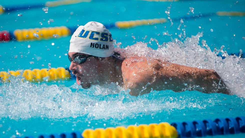 UCSB Seniors Finish With a Double Win Against Cal Poly in Swim Meet