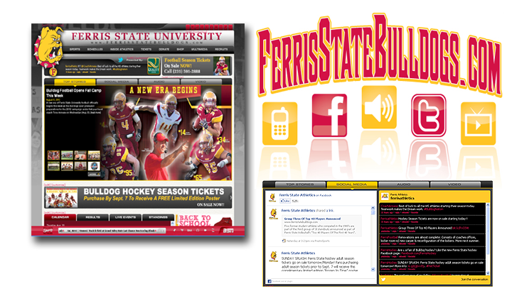 New FerrisStateBulldogs.com Officially Launches