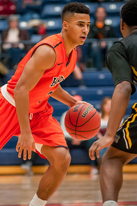 Dante Hawkins, Hope, Men's Basketball Athlete of the Week 12/27/16