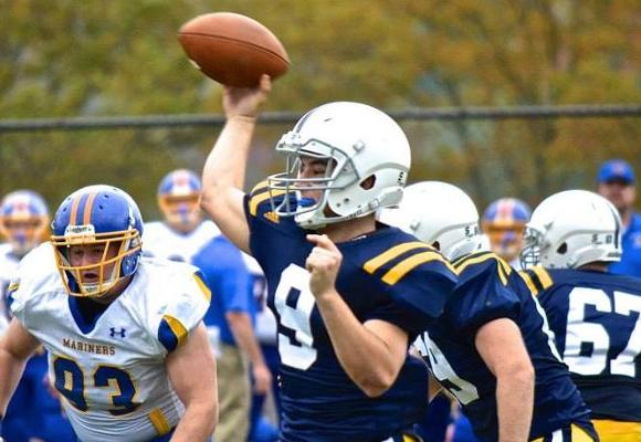 Victory Named NEFC Offensive ROY; Bears Place 7 on All-Conference team