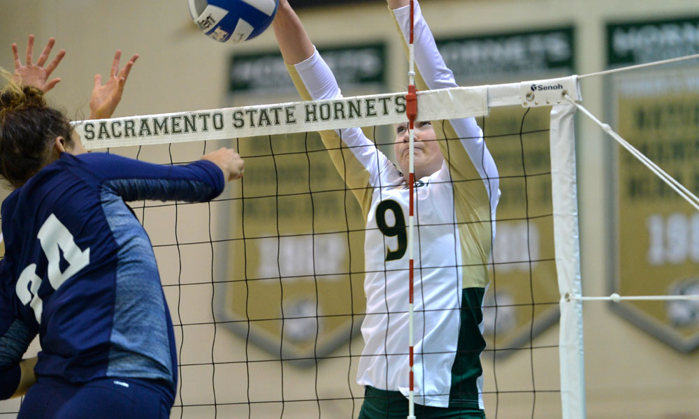 WINNERS OF 10 STRAIGHT, VOLLEYBALL TO PLAY TWICE ON THE ROAD THIS WEEK
