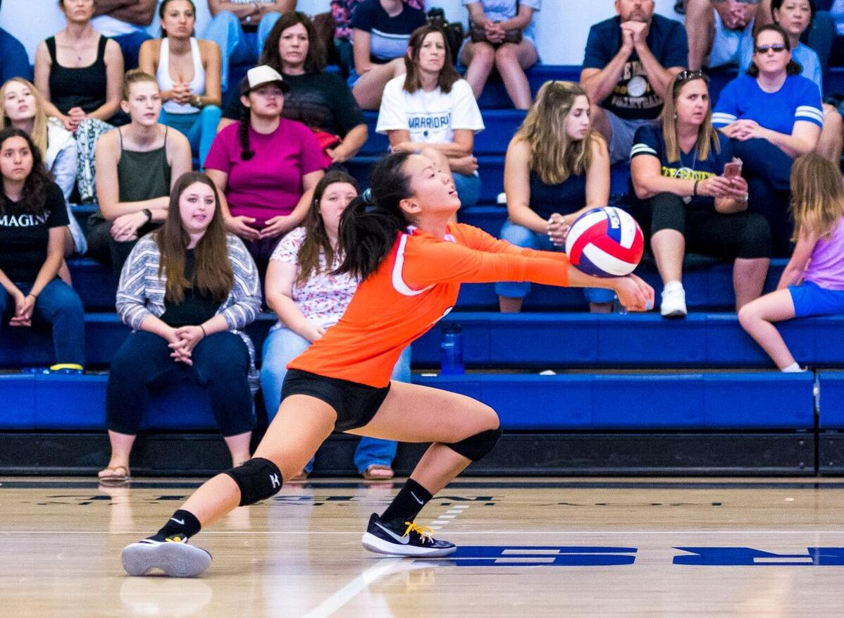 Volleyball Defeats Mills on Tri-Match Saturday