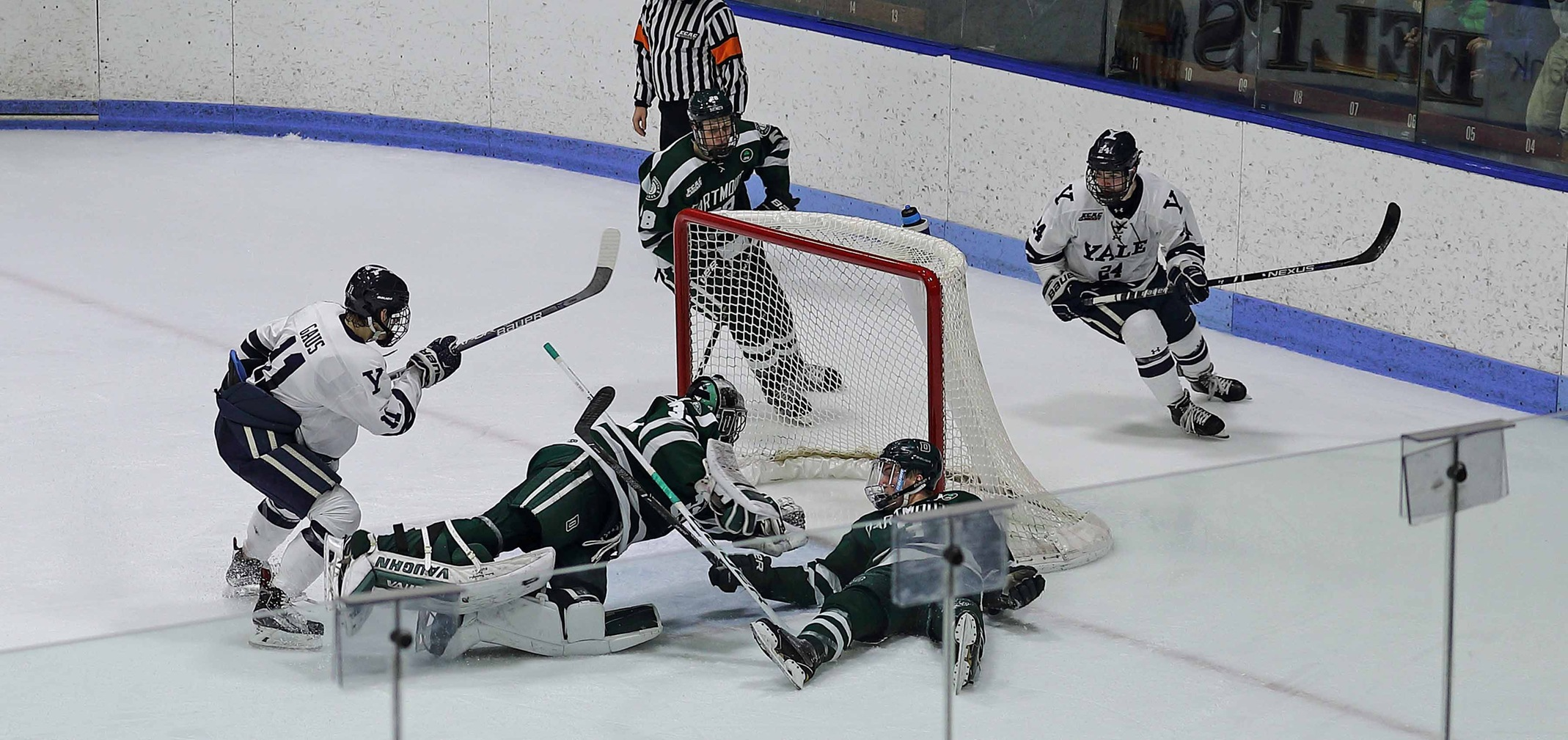 Gaus scores in OT to Give Yale 3-2 Win (Jack Warhola image)