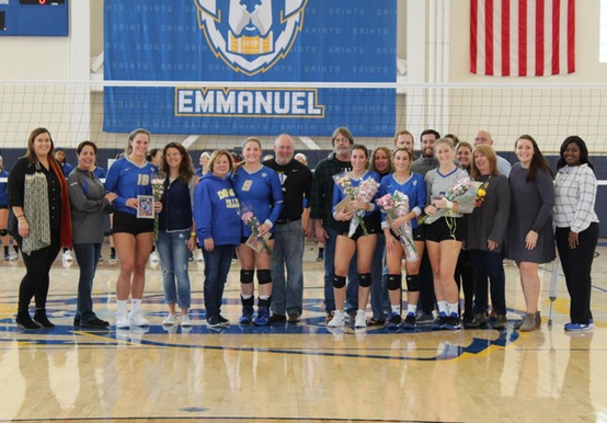 COLBY-SAWYER CHARGES PAST SAINTS ON SENIOR DAY, 3-2