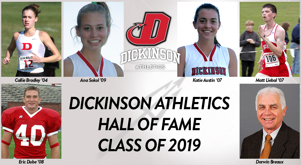Dickinson Announces 2019 Athletics Hall of Fame