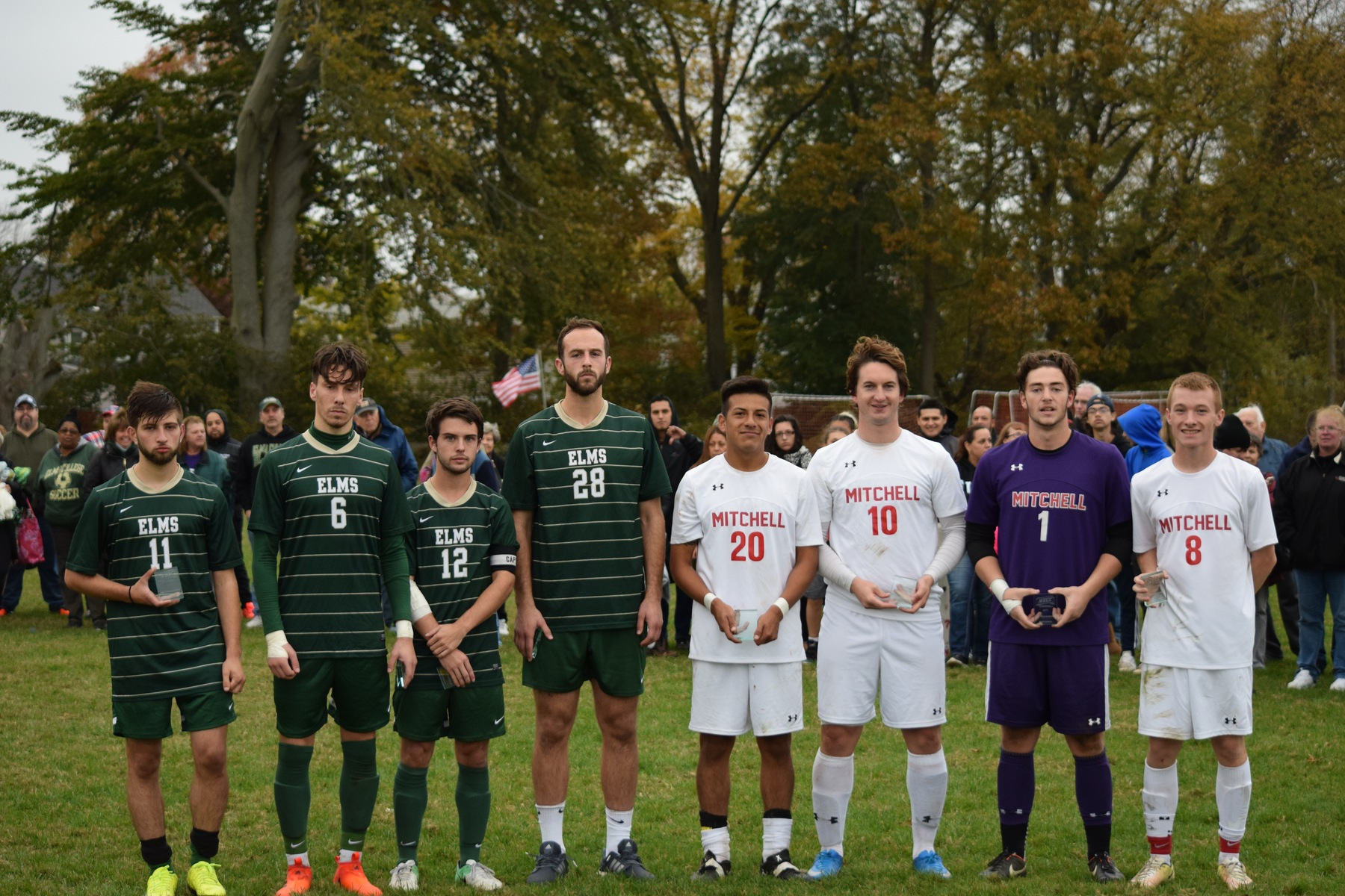 Mitchell Edges Men's Soccer In NECC Title Match