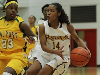 Senior guard Lauren Brittingham led UDC with game-highs of 23 points, seven assists and seven steals.
