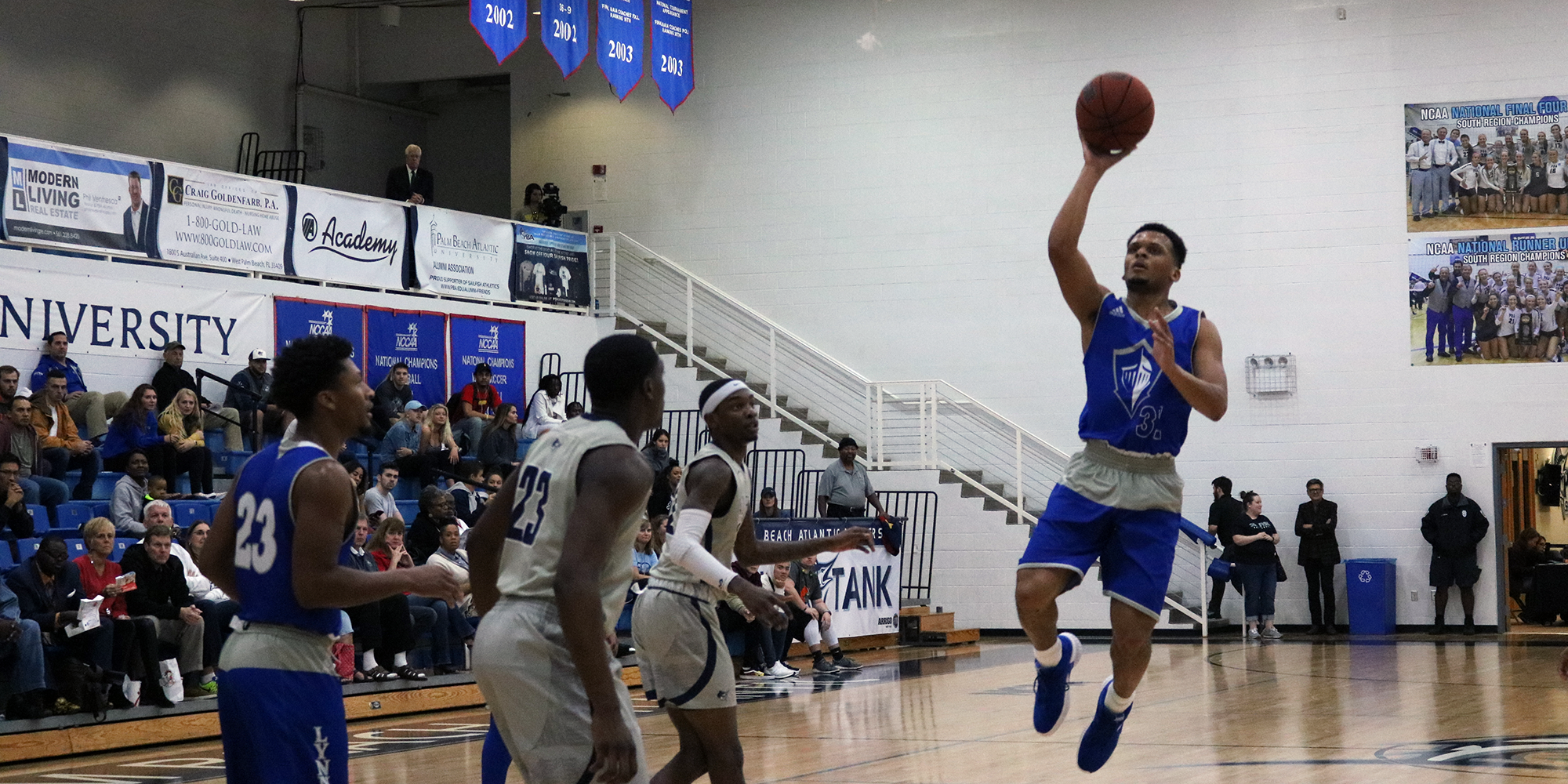 'Fish Upset No. 11 Men's Basketball
