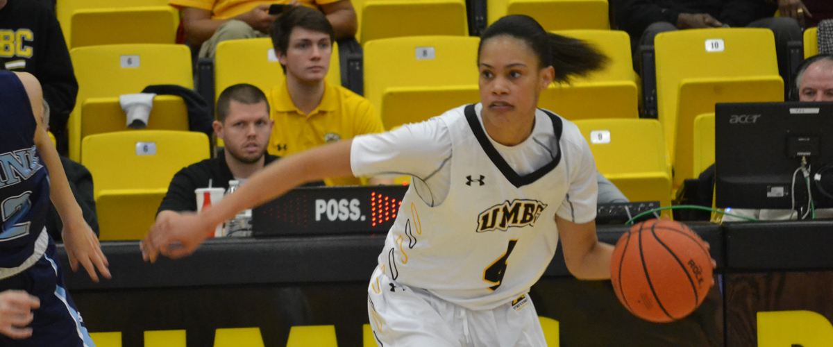 Taylor McCarley had 21 points, 6 assists and 6 steals as UMBC wins their sixth of their last seven.