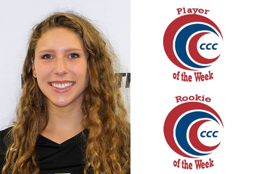 Rogoz Picks up CCC Weekly Honors