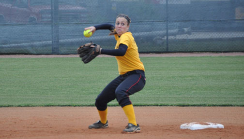 Softball: Panthers split GSAC doubleheader with Maryville