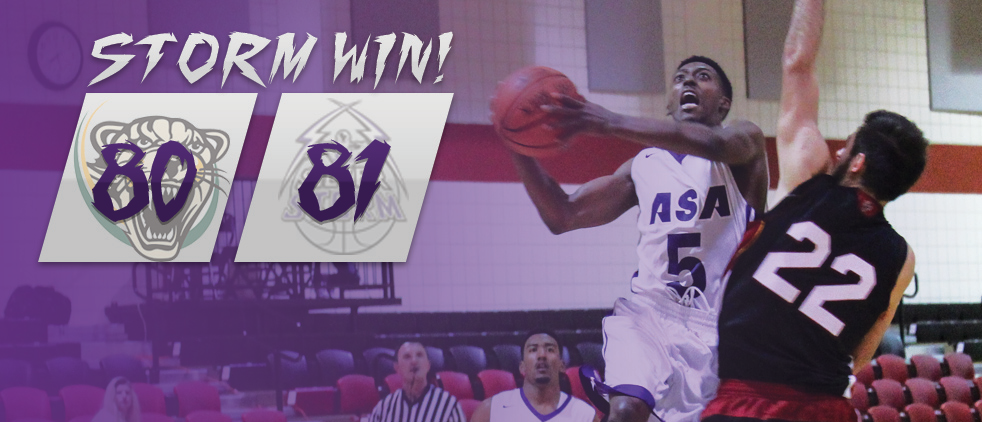 ASA Miami Hoops With HUGE Upset Over No. 16 Palm Beach State 81-80