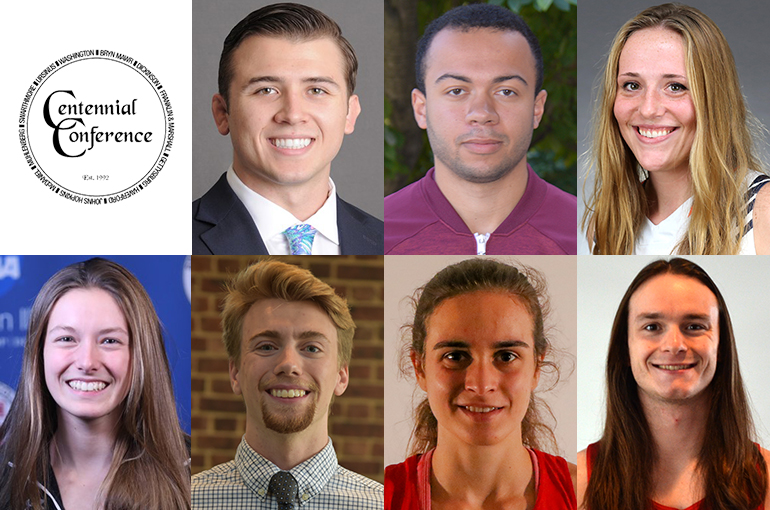 Centennial Conference Announces Winter Academic Honorees
